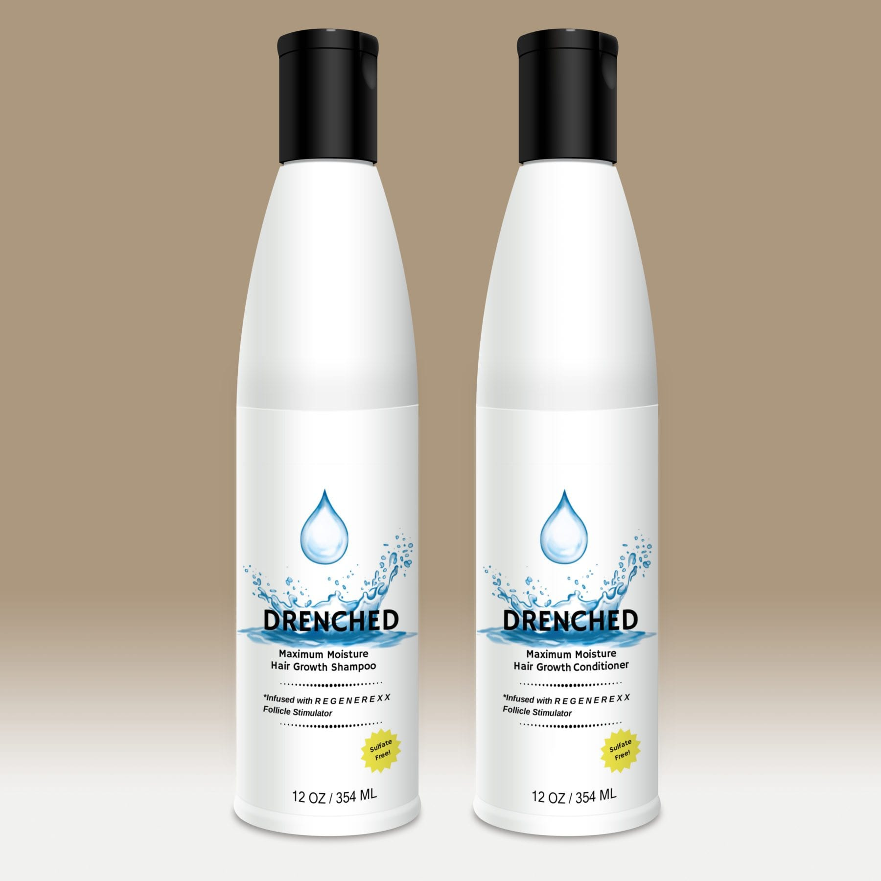 Drenched Shampoo and Conditioner Kit