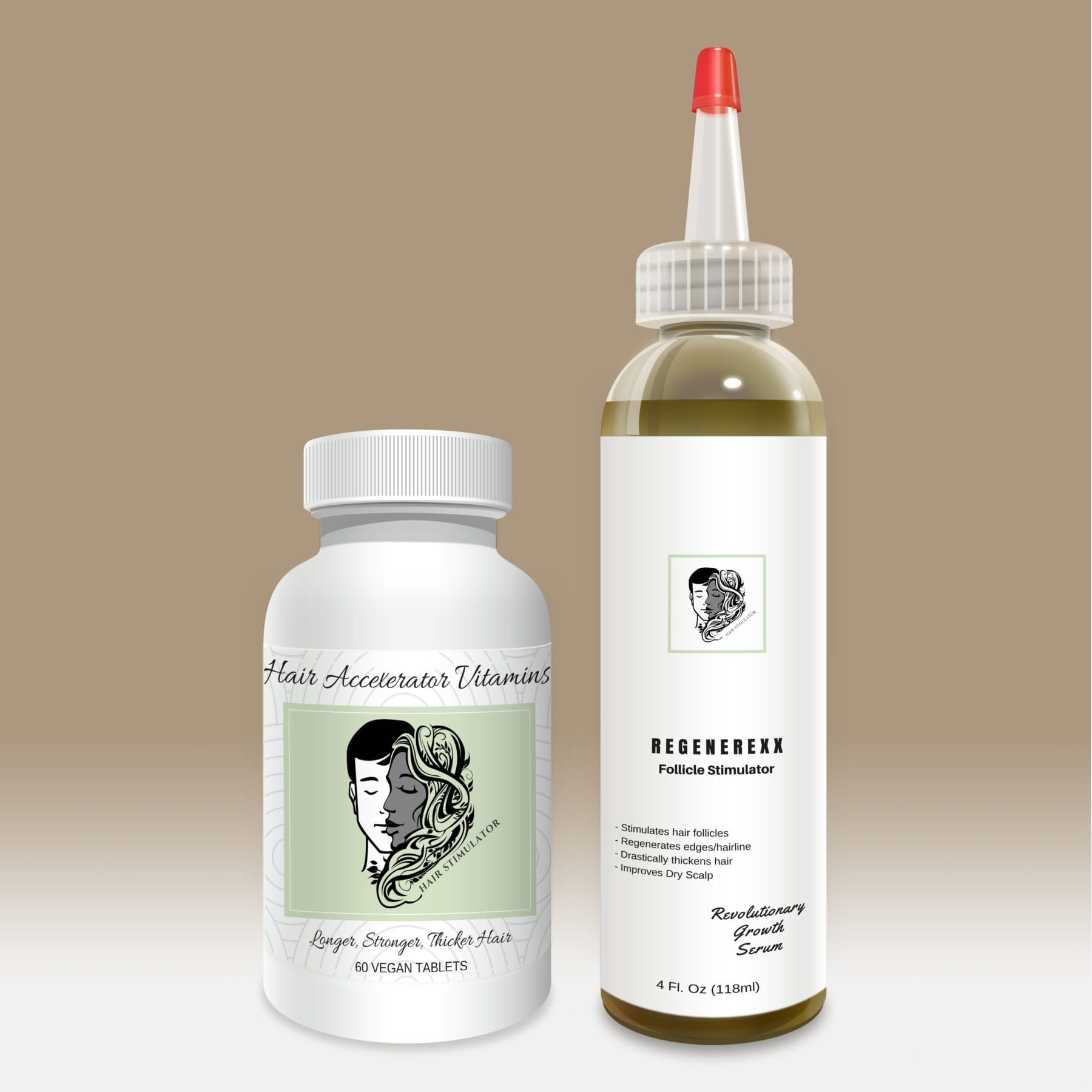 Hair Accelerator Vitamins and Regenerexx Kit