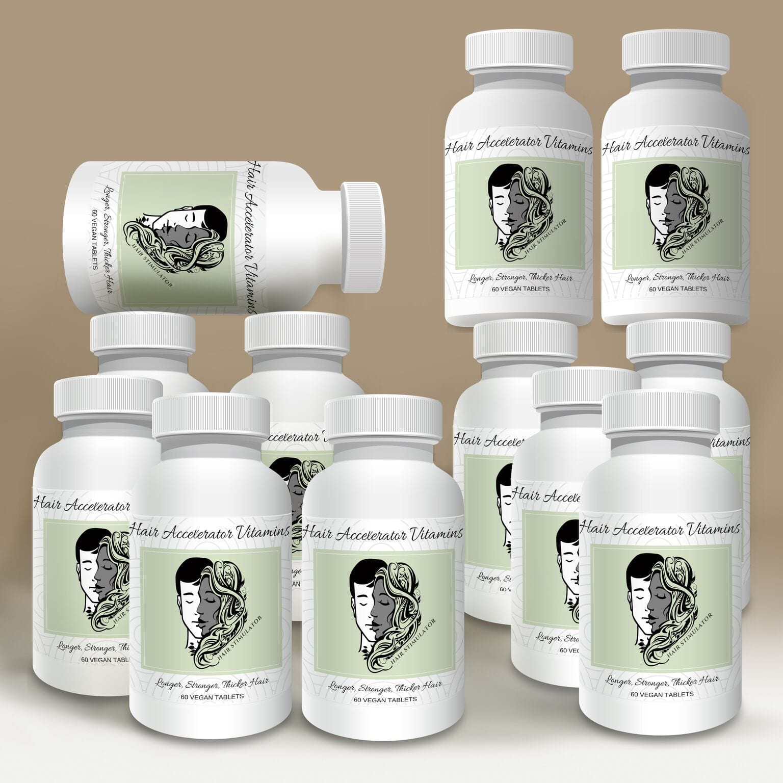 Hair Accelerator Vitamins – 12 Month Supply