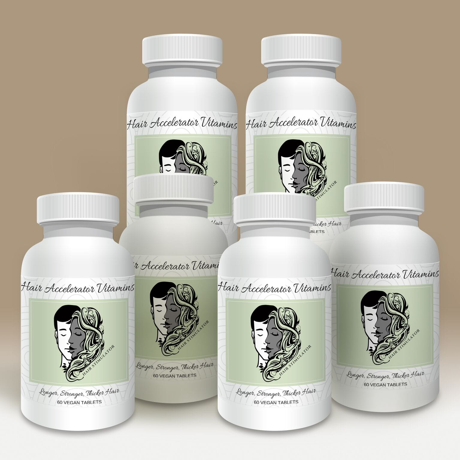 Hair Stimulator Vitamins 6 Month Supply